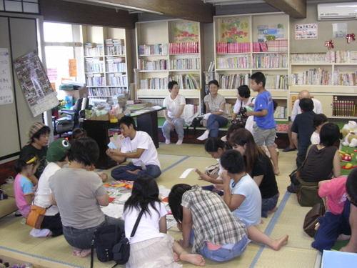 平成18年9月 水戸子供の劇場が「かえっこバザール」開催
